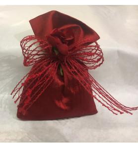 sacchetto rosso scuro